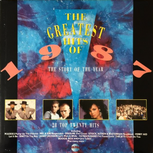 V/A - The Greatest Hits Of 1987 (LP) (EX/G)